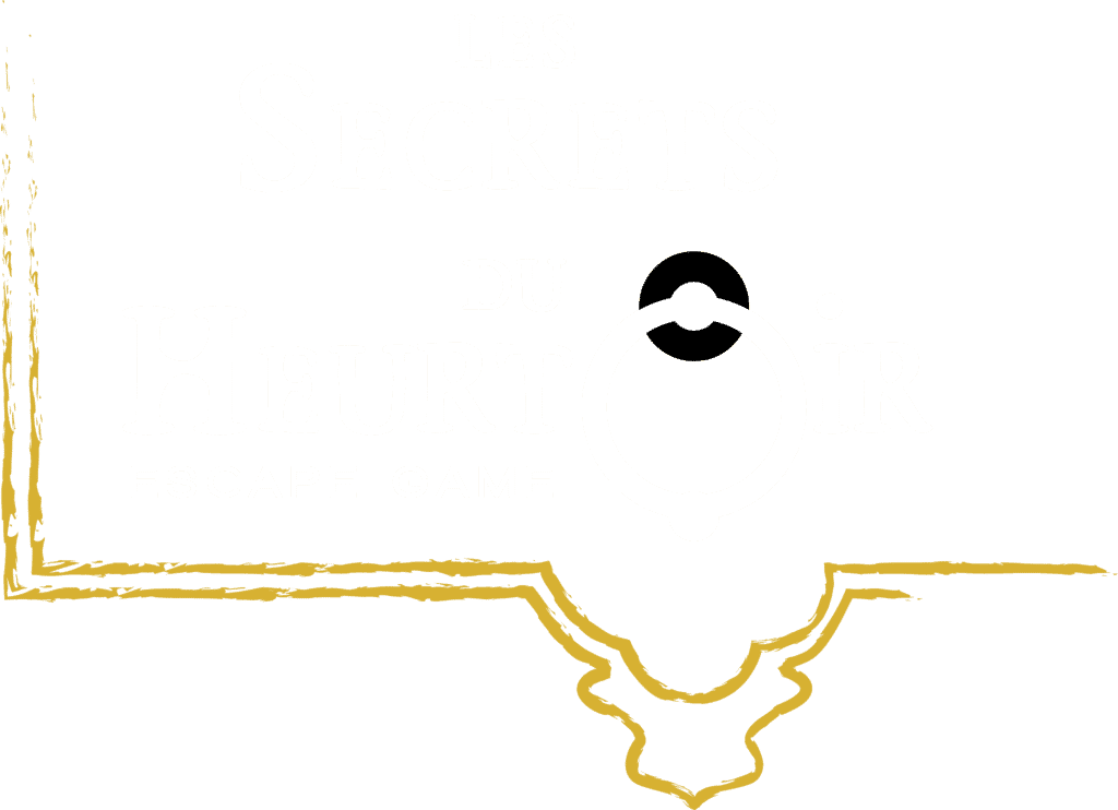 """Logo de l'entreprise d'escape game """"Les Secrets du Heurtoir"""""""
